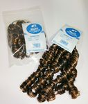 Curly Piece Braiding Hair (pack of 2) in Colour 1B/27 (black n blonde mix)